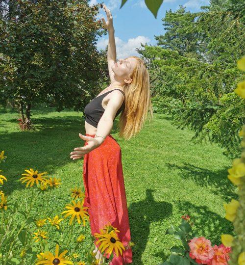 photo Floriane bras haut et bas